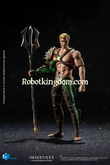 Hiya Toys LD0063 INJUSTICE 2 Aquaman. Preorder. Available in February 2020.
