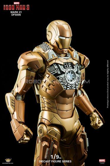 King Arts - 1/9 Diecast Figure Series - DFS006- Iron Man Mark 21. Last Pcs!