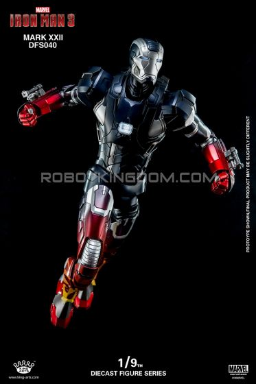 King Arts - 1/9 Diecast Figure Series - DFS040- Iron Man Mark 22. Available Now!