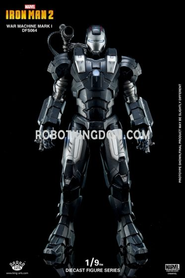 King Arts - 1/9 Diecast Figure Series -DFS064- Diecast Action WarMachine MK1. Available Now!