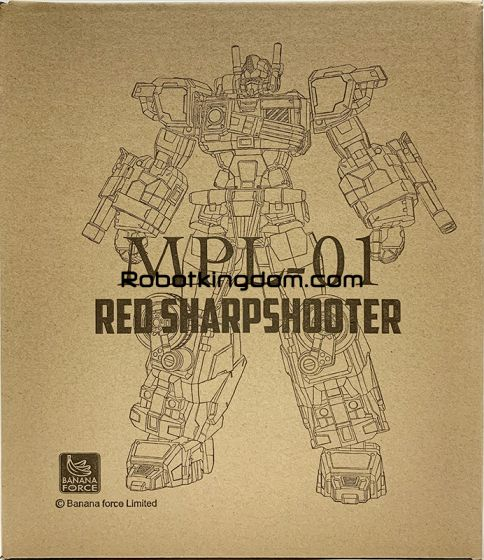 Banana Force MPL-01 Red Sharpshooter. Available Now!