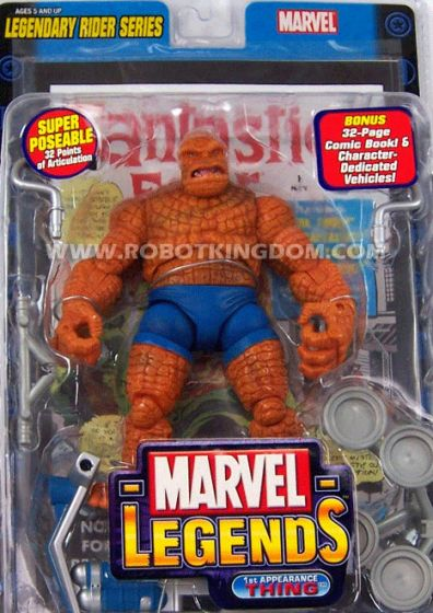 Toy Biz Marvel Legends Series 11 1st Appearance The THING