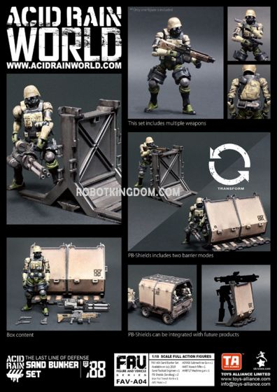 Acid Rain World FAV-A04 Sand Bunker Set. Available Now!