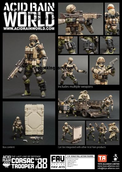 Acid Rain FAV-A15 Corsac Trooper. Preorder. Available in End of July 2020.