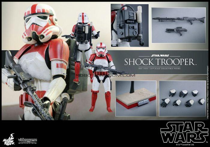 Hot Toys VGM20 Battlefront 1/6th Scale Shock Trooper.