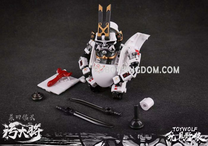 Toywolf W-01 Dirty Man. Available Now!