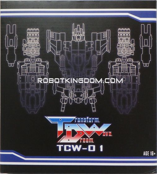 Transform Dream Wave TCW-01 Upgrade Set. Available Now!