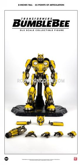 Hasbro x ThreeA: TRANSFORMERS BUMBLEBEE DLX SCALE COLLECTIBLE FIGURE SERIES. Available Now!