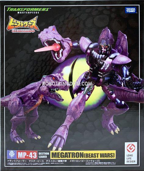Takara Transformers Masterpiece MP-43 Beast Wars Megatron. Available Now!