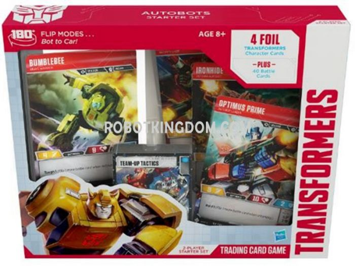Wizard of the Coast TRANSFORMERS Trading Card Game Autobots STARTER SET. Available Now!