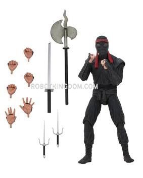 """NECA Teenage Mutant Ninja Turtles - 7"""" Scale Action Figure - Foot Solider (bladed weaponry). Preorder. Available in March 2020."""