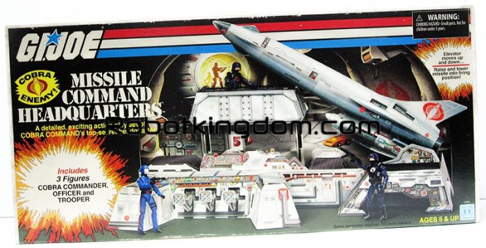 SDCC 2017 Exclusive G.I. Joe Cobra Missile Command Headquarters. Start Shipping Now!
