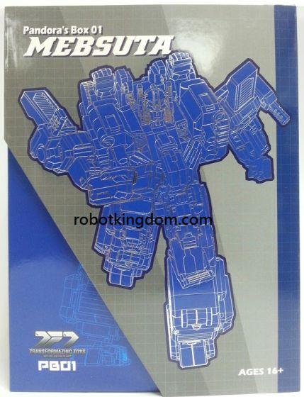 Transformazing Toys PB-01 Pandora's Box (UM Armor).