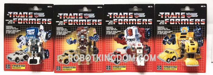 Exclusive Transformers G1  Legion COLLECTION PACK Set of 8. Available Now!