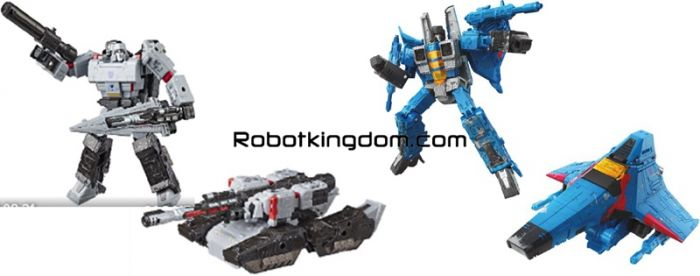 Generations 2019 Siege of cybertron Voyager Wave 4 set of 2 (MEGATRON,  THUNDERCRAKER). Preorder. Start Shipping on 1st October 2019.