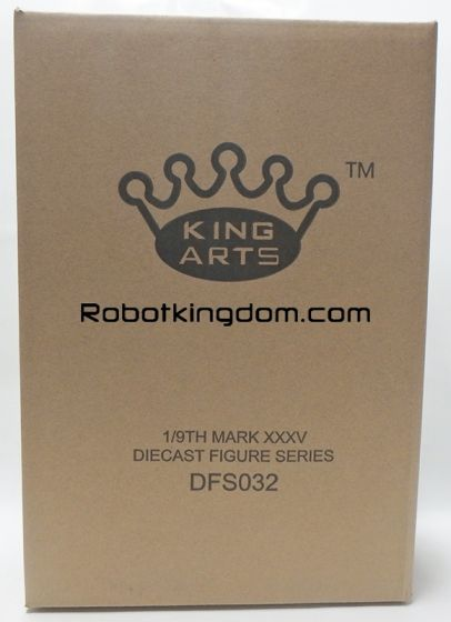 King Arts - 1/9 Diecast Figure Series - DFS032- Iron Man Mark 35. Available Now!