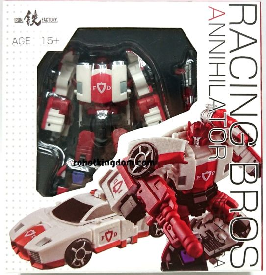 Iron Factory IF-EX26A Racing Bros -Annihilator-. Available Now!