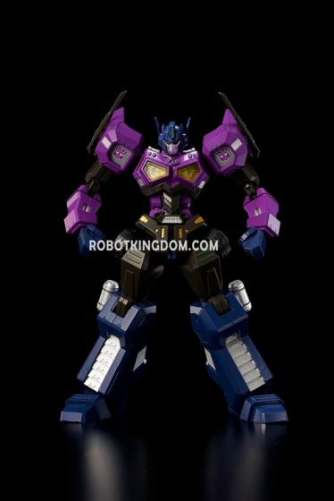 Flame Toys [Furai Model] Shattered Glass Optimus Prime (Attack Mode). Available Now!