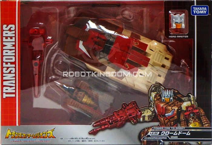 Transformers Legends LG-32 - Chromedome. Available Now!