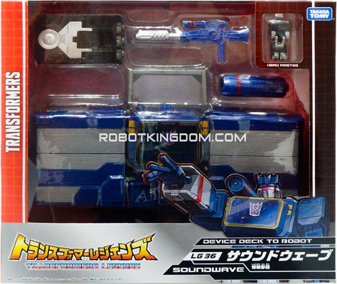 Transformers Legends LG-36 Soundwave. Available Now!