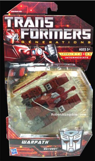 Transformers Generations 2011 Series 03 - Warpath. Restock.