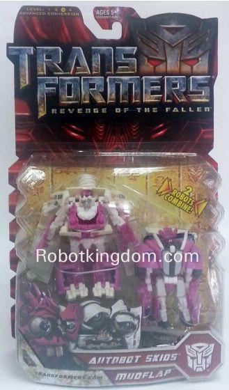 Hasbro Transformers 2 Movie Deluxe - Autobot Skids & Mudflap (Robot Mode).