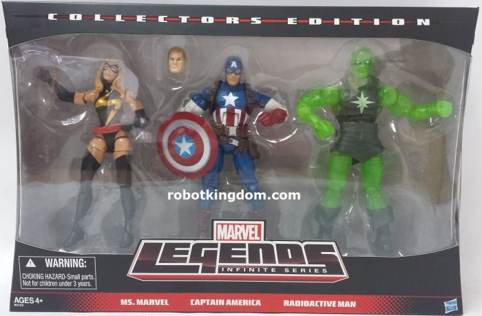 Hasbro Target Exclusive Marvel Legends 3 Pack. Available Now!
