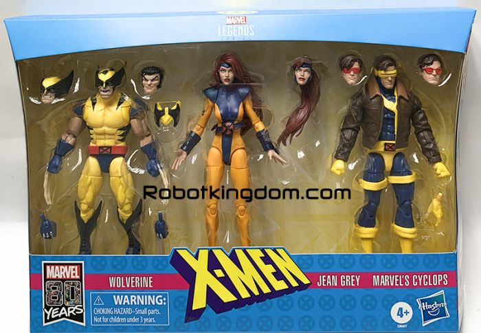 "Marvel Legends 6"" X MEN 3 Pack. Available Now!"