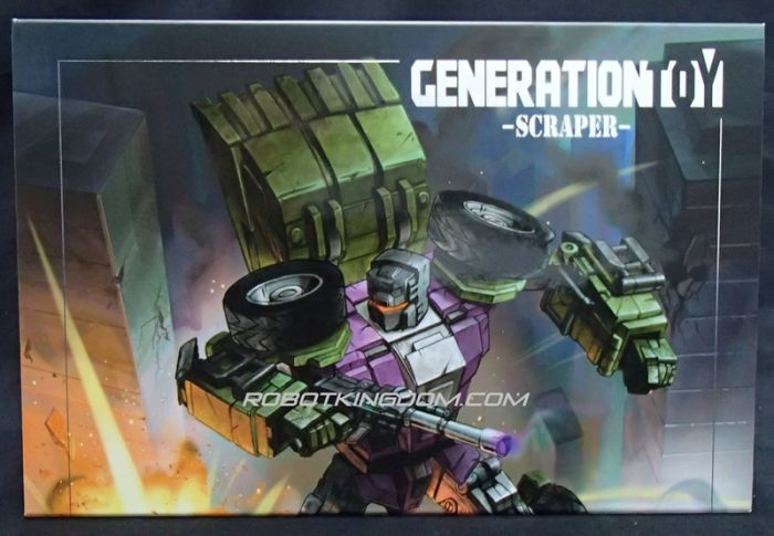 Generation Toy Gravity Builder: GT-01A. Available Now!