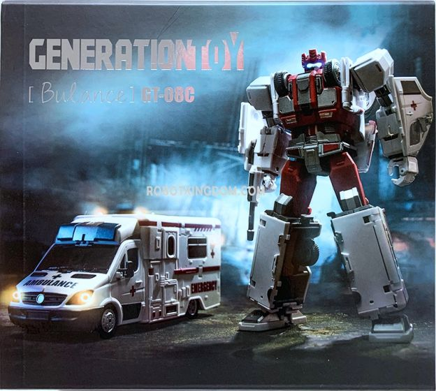 Generation Toy GT-08C Bulance. Available Now!