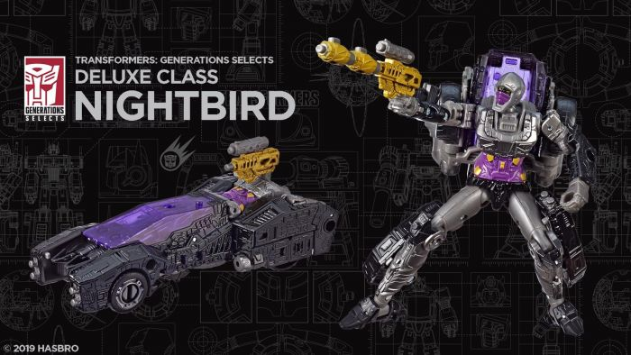 Generations 2019 Siege of cybertron Siege Exclusive Deluxe NIGHTBIRD. Available Now!
