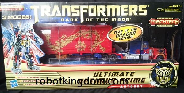 "DOTM Asia Exclusive CNY ""Year of the Dragon"" Edition Ultimate Optimus Prime. Available Now!"