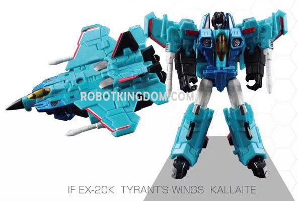 Iron Factory IF-EX20K Tyrant's Wing Kallaite. Available Now!