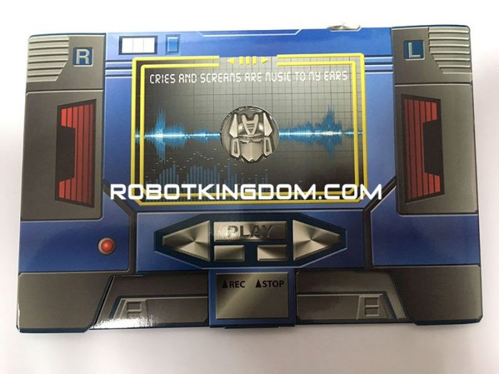 MP-13 Soundwave Coin. Warehouse Found!