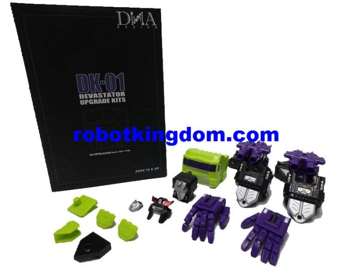 DNA DESIGN DK-01 Upgrade Kit for Titan Class Devastator. Rerun Available Now!
