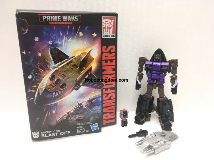 Exclusive Transformers Power of the Prime Deluxe Blast Off. Start Shipping Now!