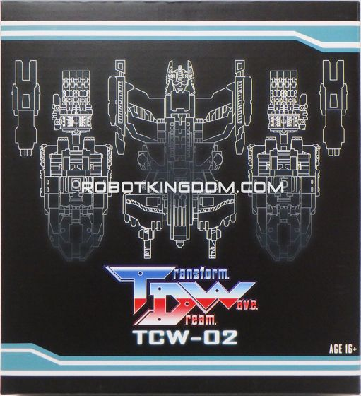 Transform Dream Wave TCW-02 Upgrade Set. Available Now!
