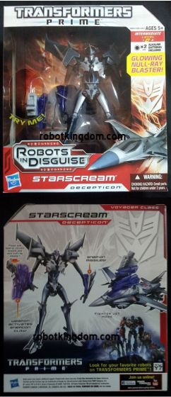 Hasbro Transformers PRIME Voyager - Starscream. Available NOW!!!