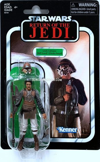 """Exclusives Star Wars Vintage Collection3.75"""" : Lando Calrissian (Skiff Guard). Available Now!"""