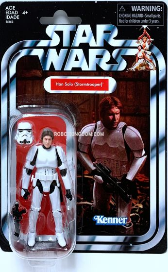 """Exclusives Star Wars Vintage Collection 3.75"""" Han Solo in Stormtrooper. Available Now!"""