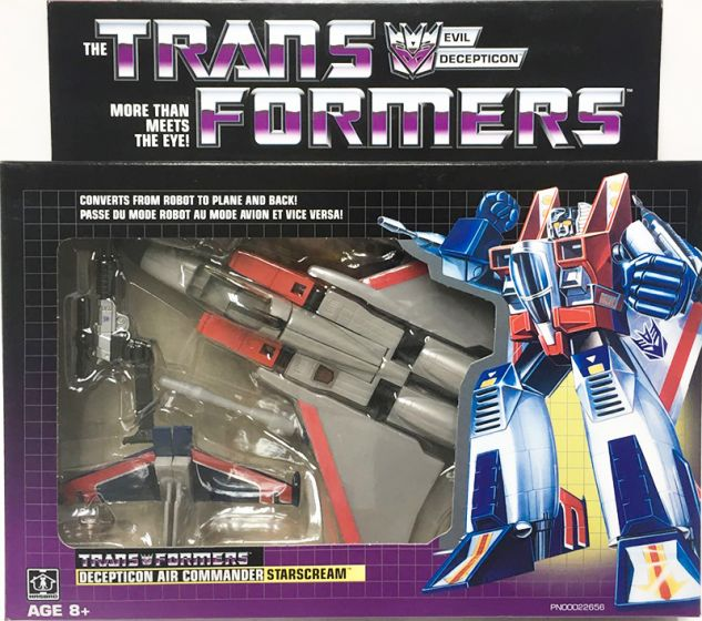 Exclusive Hasbro G1 Transformers STARSCREAM. Available Now!