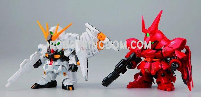 Hong Kong Gundam Dock III SD νGUNDAM VS SAZABI -Fateful Showdown- set Ver.. Preorder. Available in late August.