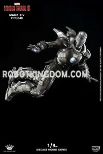 King Arts - 1/9 Diecast Figure Series - DFS048 - Diecast Iron Man Mark XIV. Available Now!