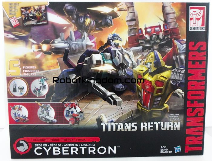 """Transformers Generations Titans Return """"Siege On Cybertron"""". Available Now!"""