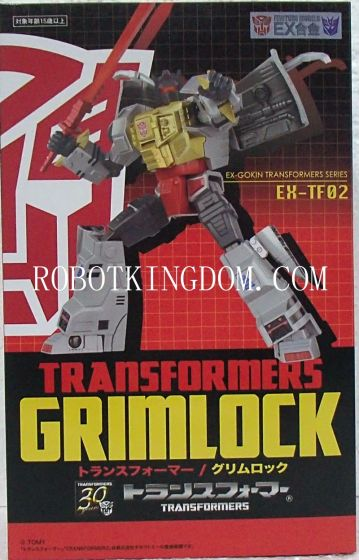 Art Storm EX Gokin Transformers Series EX-TF02 Grimlock. Available Now!
