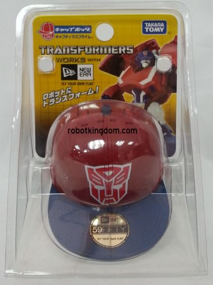 Takara Transformers Cap Bots Captimus Prime and Capticon set of 2. Available Now!