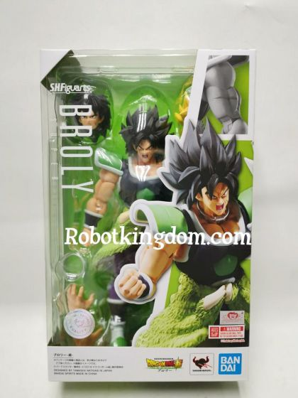 Bandai S.H. Figuarts Dragonball Super Broly. Available NOW !