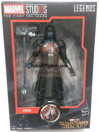 Gamestop Exclusives Marvel Legends Cinematic Universe 10th Anniversary Ronan the Accuser. Available Now!