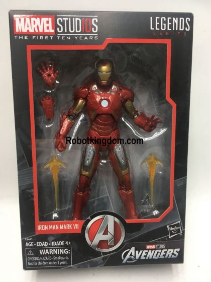 Marvel Legends Cinematic Universe 10th Anniversary Iron Man. Preorder. Available in next week.