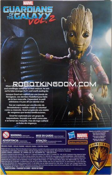 Guardians of the Galaxy Vol.2 Walmart Exclusive Ravager Groot Figure. Available Now!